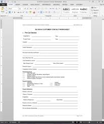 Contact Spreadsheet Template Customer Contact Worksheet Template