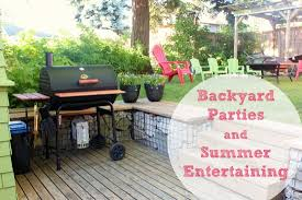 Backyard Parties Prepping For Summer Backyard Parties U0026 Entertaining Make And Takes