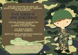 army birthday invitations ideas u2013 bagvania free printable