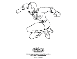 colouring pages power rangers printable kids colorine net