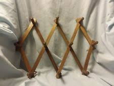 vintage folding coat hanger ebay
