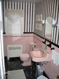 Pink And Black Bathroom Ideas Bathroom Interior Vintage Pink Bath Before Pics Of And Black