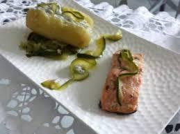 cuisiner du saumon au four saumon au four pomme de terre farcie light recette ptitchef