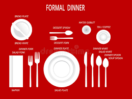 how to set a formal dinner table formal dinner place settings dinner table set set for food and