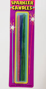 candle sparklers sparkler candles slim partyshop co nz