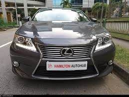 lexus in singapore buy used toyota lexus es250 auto car in singapore 148 800