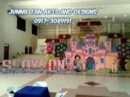 Castle Backdrop Disney Princess Theme Styro Backdrop For Rent And Balloon Decor