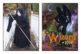 make do diy wizard101 wraith halloween costume