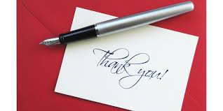 i think pros writing a thank you card outweigh cons by