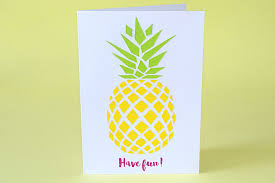 Ananas Pineapple Meme - carte de vacances ou déco murale l ananas est tendance réalisez