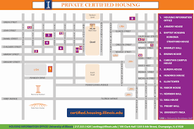 University Of Oregon Map by Private Certified Housing