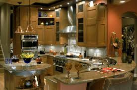 Kitchen With Bar Design Kitchen With River Gold Granite U2013 Luxurious Accent Homesfeed