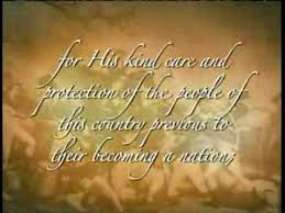 thanksgiving proclamation by george washington flv