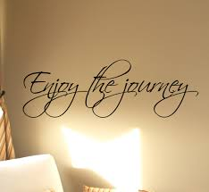 enjoy the journey wall decals trading phrases enjoy the journey wall decal