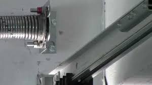 Garage Door Counterbalance Systems by Very Unusual Garage Door Spring System Youtube