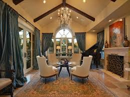 Chandelier For Cathedral Ceiling Epic Living Room With Cathedral Ceiling Traditional Living Room