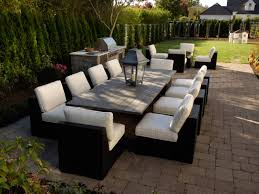 Outdoor Table Ls Furnishing Your Outdoor Room Hgtv