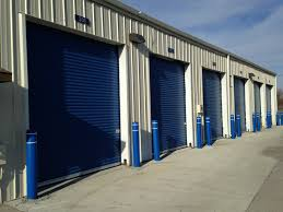security of steel roll up doors on all self storage units in