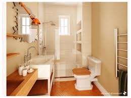 luxurious small wooden bathroom for nice looking inspiring