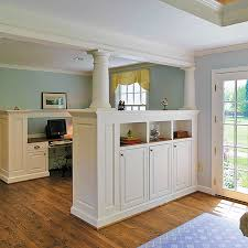 Kitchen Living Room Divider Ideas Room Divider Ideas For The New Year Half Walls Small Rooms And