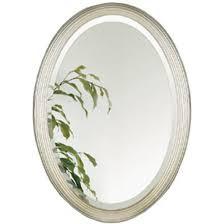 White Framed Oval Bathroom Mirror - great mosaic oval bathroom mirror with decorative design good