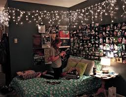room just put up some lights collage
