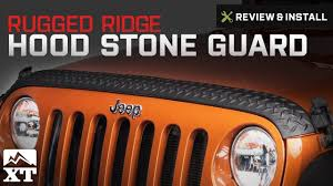 jeep body armor bumper jeep wrangler rugged ridge black body armor hood stone guard 2007