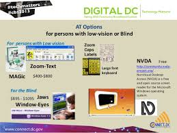 Assistive Technology For Blindness And Low Vision Assistive Technology Options For Computer Users With Disabilities