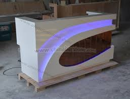 L Shaped Salon Reception Desk L Shaped Reception Counter Beauty Salon Reception Desk Design