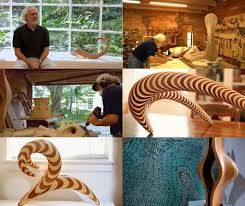 contemporary wood sculptures by david engdahl contemporist