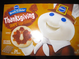 pillsbury ready to bake thanksgiving shape sugar cookies