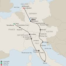 Map Of Switzerland And Germany by Switzerland Tours Globus Europe Vacations
