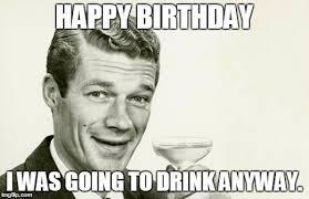 Birthday Wine Meme - thrilling birthday meme image with wine celebration nicewishes