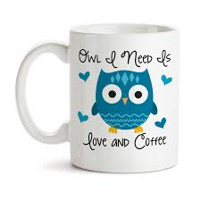 owl mug coffee mug owl i need is and coffee 001 owl gift owl mug