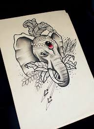 58 best tattoo elefante images on pinterest artworks beautiful