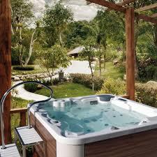 above ground tub square 5 seater easy access aquavia spa