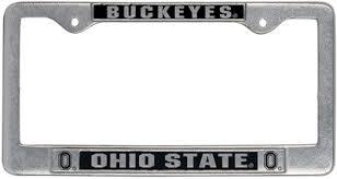 ohio alumni license plate frame barnes noble the ohio state bookstore license