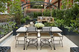 Urban Gardening Ideas - alfresco garden ideas patio traditional with water feature rooftop