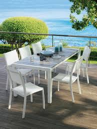 table salon de jardin leclerc table de jardin leclerc table jardin blanche objets decoration