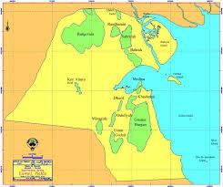 kuwait on a map information center kuwaiti fields