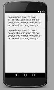 layout line android how to add a horizontal line in android layout code2care