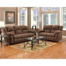 Microfiber Reclining Loveseat With Console Ashley Mocha Microfiber Reclining Sofa And Loveseat With Console