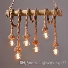 Vintage Industrial Light Fixtures American Vintage Industrial Light Loft Style Bamboo Pendant Light