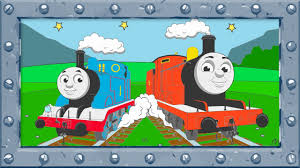 how to coloring thomas and james trains thomas and friends