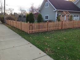 wood picket fences in st paul lakeville woodbury twin cities
