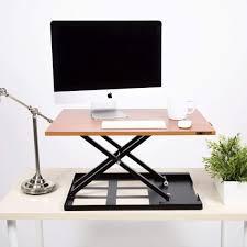 Sit Stand Desks X Elite Pro Standing Desk Converter Sit Stand Cherry Steady Ssud28cha 179 Jpg V 1522598309