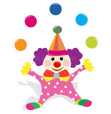 clowns juggling balls clown juggling with balls stock illustration illustration of