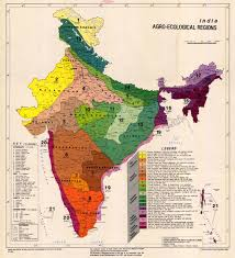 United States Radon Map by Agro Ecological Soil Map Of India Cartography Pinterest