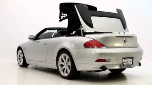 bmw 6 series convertible review florida cars 2006 bmw 650i convertible review