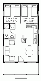 One Room Cottage Floor Plans Download Single Room House Home Intercine